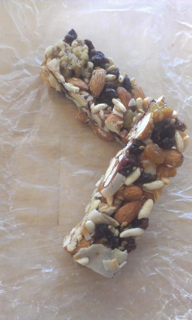 Almond Cranberry Coconut bars