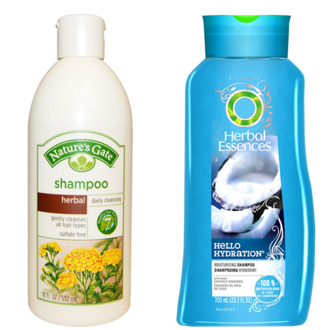 Two Herbal Shampoos, similar name, similar safety ratings. What about the social and environmental impact?