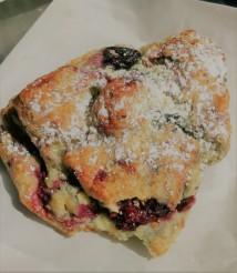 Mixed berry scone